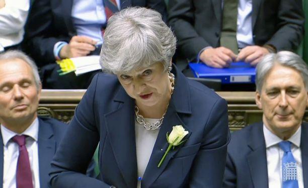 Pääministeri Theresa May aika alkaa käydä vähiin.