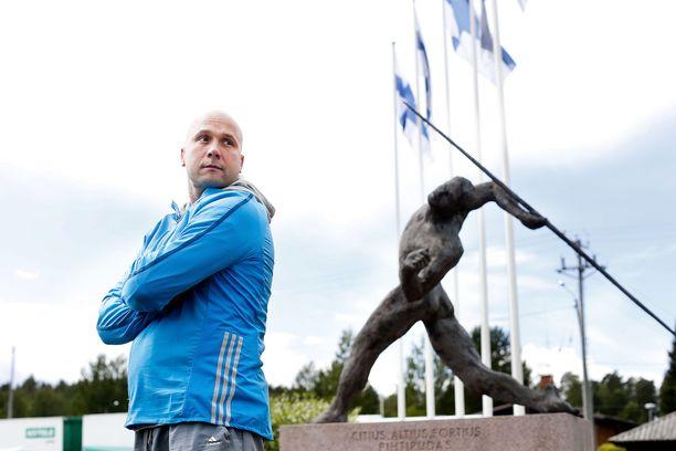 Petteri Piironen jännitti Janne Läspän finaalisuorituksia.
