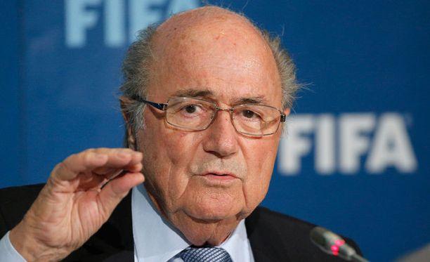 Sepp Blatterin mukaan uudelle MM-äänestykselle ei ole perusteita.