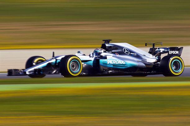 Circuit de Catalunya tulee tutuksi myös uudelle W08-autolle.