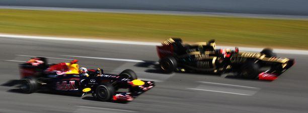 Sebastian Vettelkin oli Lotuksen takana.