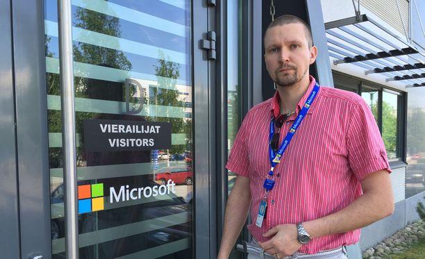 Pääluottamusmies Kalle Kiili.