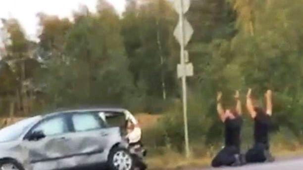 Poliiseja ampuneet veljekset saatiin kiinni Pirkanmaalla mittavan takaa-ajon jälkeen.