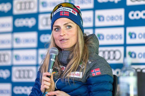 Therese Johaug kilpailee tänä kesänä myös yleisurheilussa.