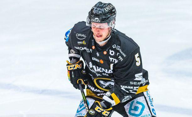 Lasse Kukkonen koki kovia Nürnbergiä vastaan.