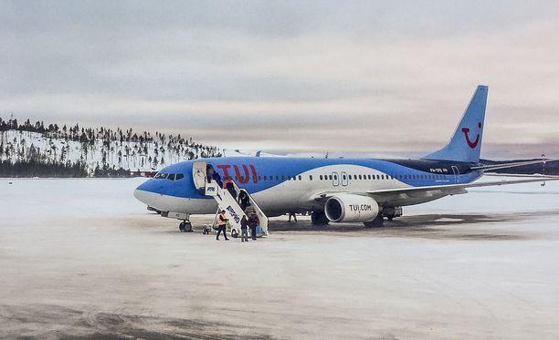 TUI:n lentojen kanssa on ollut viime päivinä ongelmia. Kuvituskuva.