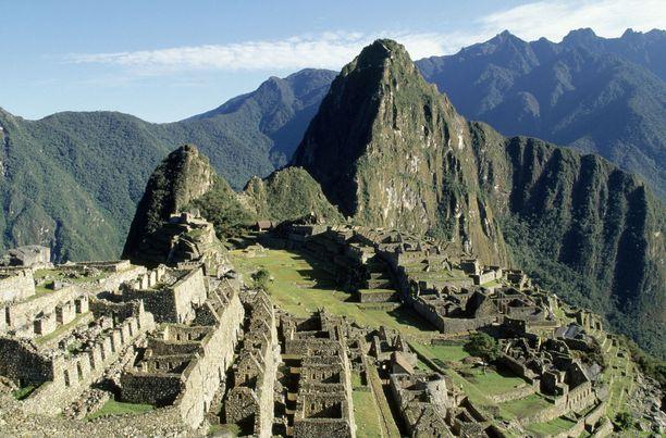 Machu Picchu on Perun kuuluisin nähtävyys.