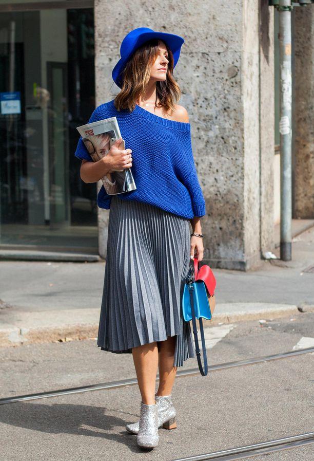 Katutyyliä Milanon muotiviikolta - näin trendi toimii arjessa!