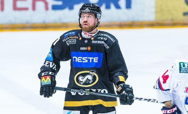 Jari Sailio oli Kärppien pudotuspelitaistelun ilmentymä.