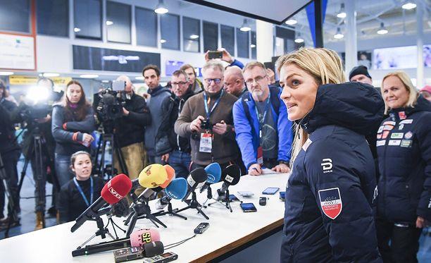 Therese Johaug palaa maailmancupiin sunnuntaina.