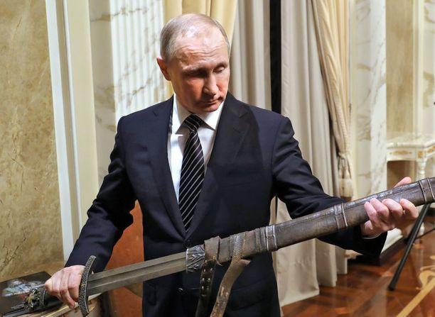 Asiantuntijat ovat yhtä mieltä siitä, että Venäjän presidentti Putinilla on vahva halu etupiiriajatteluun.