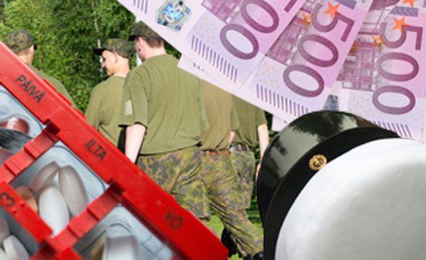 Valtion varoilla pyöritetään suomalaista yhteiskuntaa.
