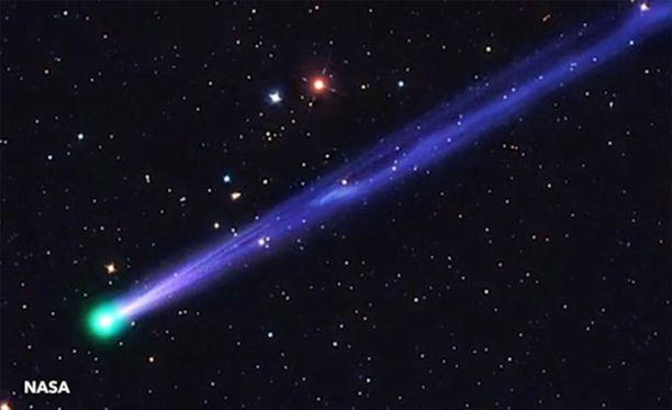 Komeetta P45 Nasa kuvassa vuodelta 2011.