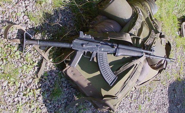 Vihdin ampujan käyttämä ase oli tällainen RK-62 -rynnäkkökivääri.