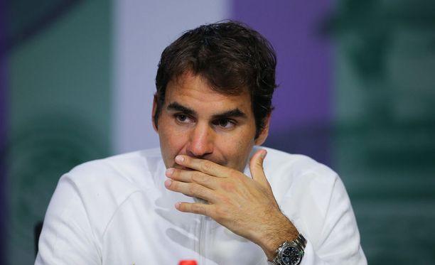 Roger Federer ei pysty kilpailemaan enää tällä kaudella.
