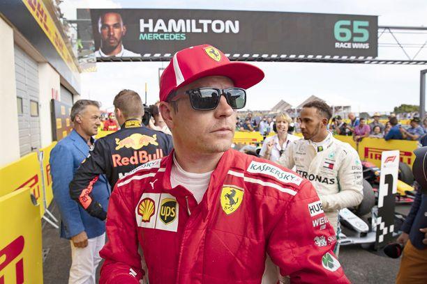 Kimi Räikkönen on osallistunut 285 F1-osakilpailuun.