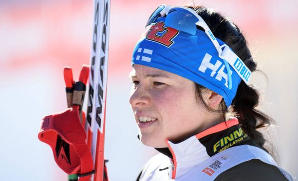 Krista Pärmäkoski on ollut alkukaudesta kovassa vedossa.