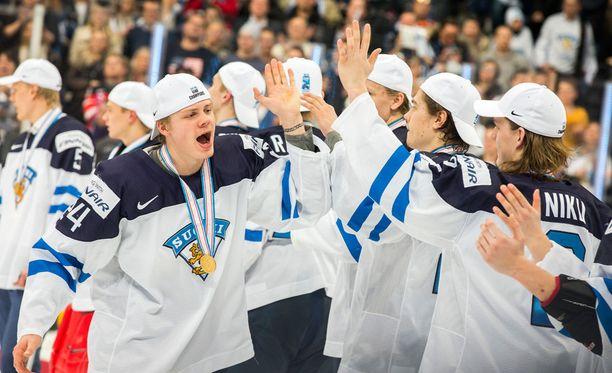 Suomen alle 20-vuotiaiden maajoukkue valittiin Urheilugaalassa Vuoden joukkueeksi.