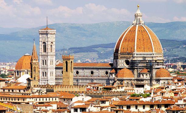 Kapua kupoliin Firenzessä.