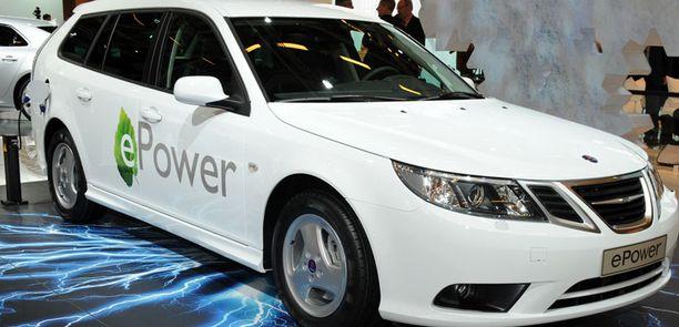 Sähköä Saabiin, toistaiseksi prototyyppi.