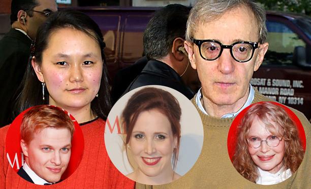 Soon-Yi Previn ja Woody Allen eivät ole osallistuneet uuden dokumentin tekoon. Ronan, Dylan ja Mia Farrow sitä vastoin ovat, muiden muassa.