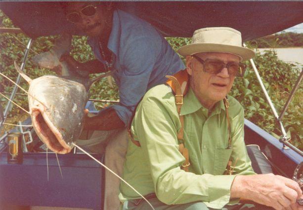 Urho Kekkonen teki helmikuussa 1976 yksityisen kalastusmatkan Brasiliaan Araguaiajoelle.