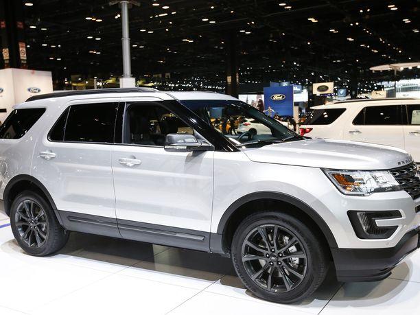 Ford ilmoittaa peräti 775 000 Ford Explorer -katumaasturia koskevasta takaisinkutsusta. Kuvassa vuoden 2017 Ford Explorer.