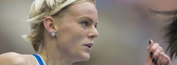 Hanna-Maari Latvala juoksi ajan 11,23.