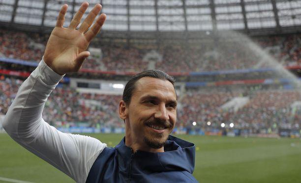 Zlatan Ibrahimovic laukoo tunnetusti kovaa kentällä ja mediassa.