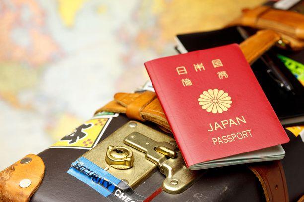 Japanin passi on niin kutsutusti kovaa valuuttaa.