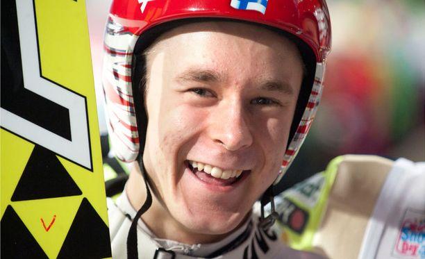 Jarkko Määttä kiilasi Willingenin avauskierroksella aivan top kympin tuntumaan.
