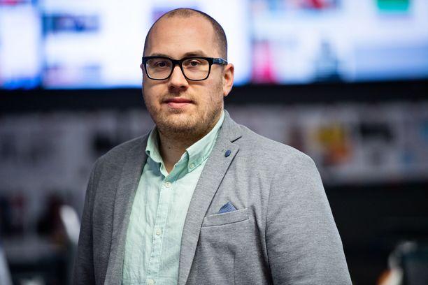 Marko-Oskari Lehtonen valittiin Iltalehden vuoden journalistiksi.