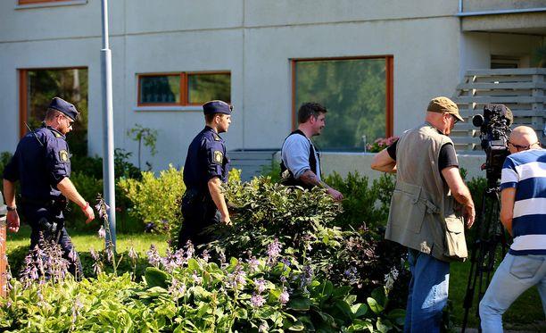 Poliisin mukaan tulipalon uhrit olivat joutuneet ennen tulipaloa rikoksen uhriksi.