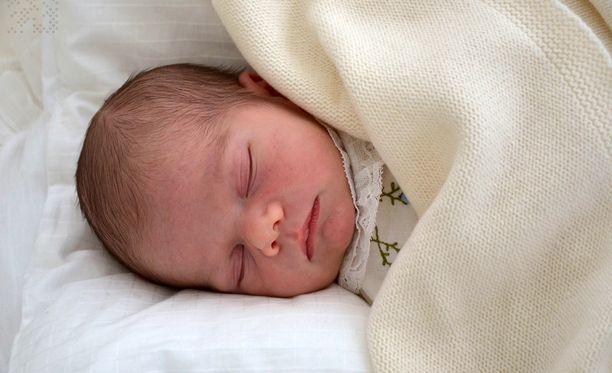 Prinssi Oscar syntyi maaliskuussa.