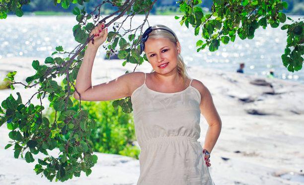 Reeta Vestman on kahden lapsen äiti.