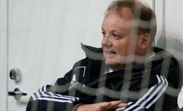 Ville Lyytikäinen oli tuttu näky jalkapallohalleissa ja -katsomoissa.