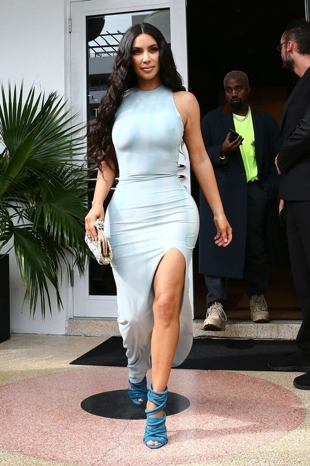 Kim on niin hyvä esimerkki, että meidän oli otettava mukaan myös tämä tuore, arkisempi tyylinäyte.