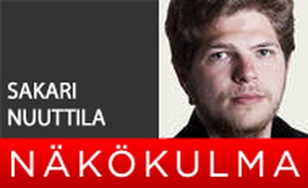 Iltalehden toimittaja Sakari Nuuttila.