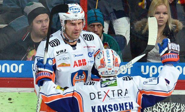 Markus Kankaanperä iski Tapparan avausmaalin.