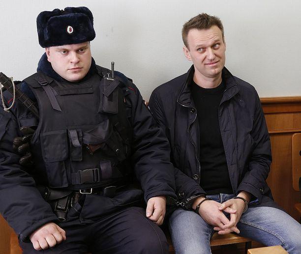 Navalnyi sai viettää 15 päivää pidätettynä edellisten suurmielenosoitusten jälkeen.