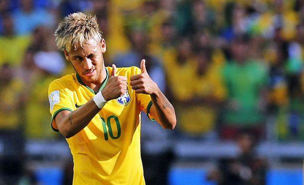 Neymarin Brasilia on välipäivien jälkeen ensimmäisenä lauteilla.