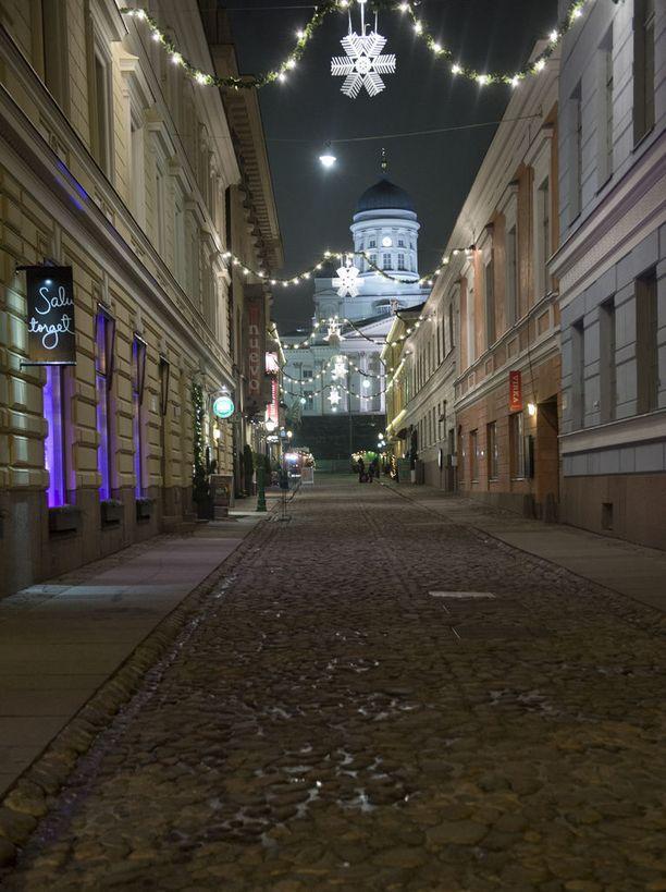 Joulu on todennäköisesti lumeton Helsingissä. Aattoiltana saattaa taivaalta kuitenkin tippua lumiräntää.