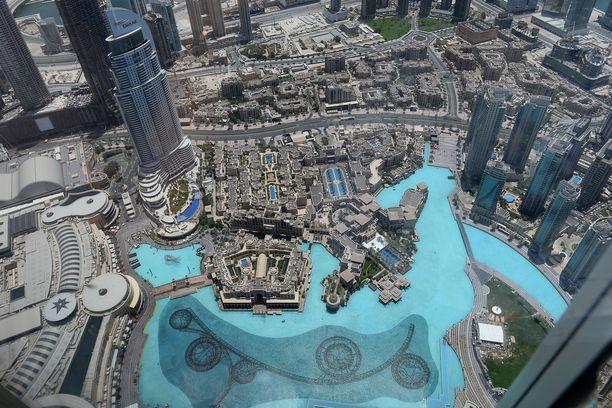Maailman korkein rakennus löytyy tällä hetkellä Dubaista.