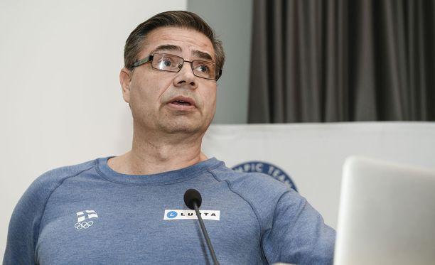 Mika Lehtimäki on suomalaisen olympiaurheilun uusi pomo.