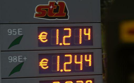 Bensan hinta romahtanut ja vajoamassa alle 1,20 euron: Aamulla halvinta bensaa myytiin Tuurin kyläkaupassa ja Mäntsälässä