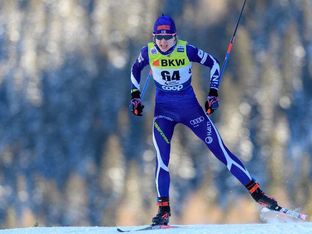 Eveliina Piippo on yksi hyvä vaihtoehto Suomen viestiankkuriksi Seefeldin MM-kisoissa.