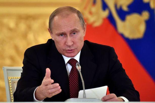 Vladimir Putin on huolissaan uusnatsismista Baltian maissa.