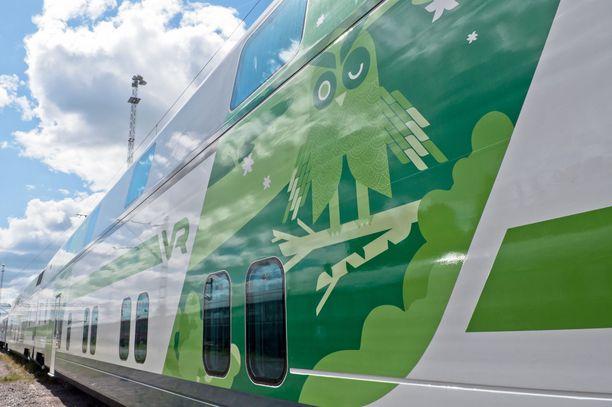 Sähkökatko häiritsi junaliikennettä Etelä-Suomessa.