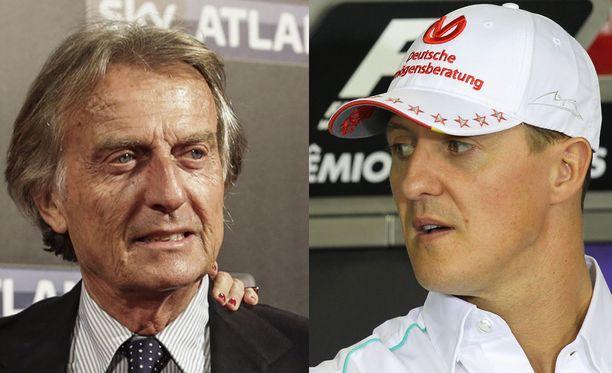 Luca di Montezemolo lukeutuu Michael Schumacherin läheisiin ystäviin.