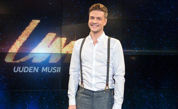 Mikael Saari halajaa Euroviisuihin.